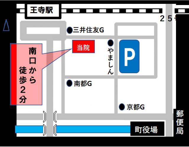 王寺店地図